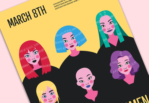 Women's Day Poster Layout