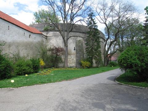 Bastion Stadtmauer Nördlingen