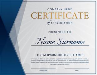 Professional Certificate Design