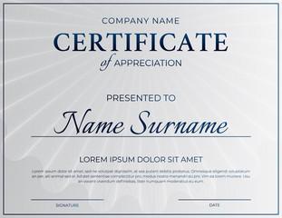 Clean Certificate Design
