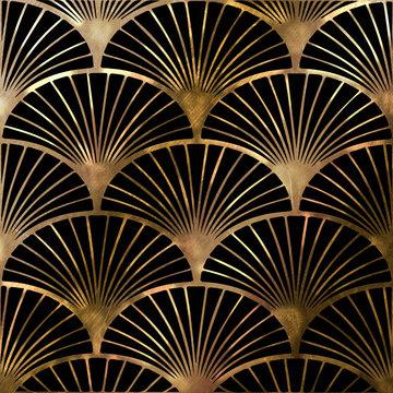 Artdeco pattern fan-shaped.