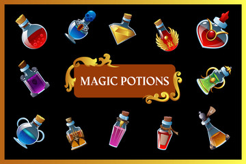Magic Potion Game Background