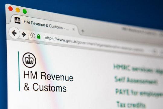 HM Revenue and Customs Website