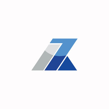 initial letter az or za logo vector designs