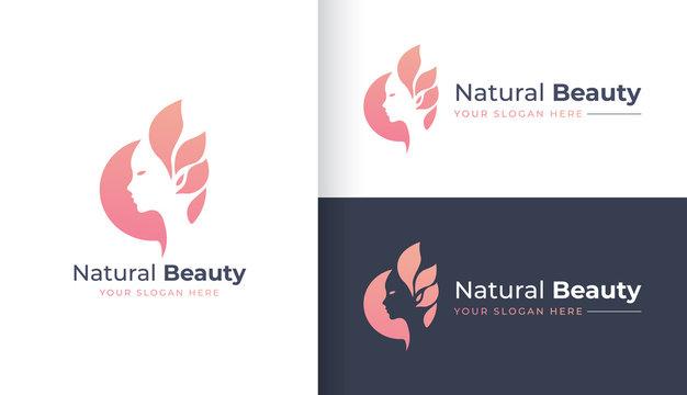 Natural Beauty logo design