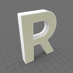 Letters Simple R