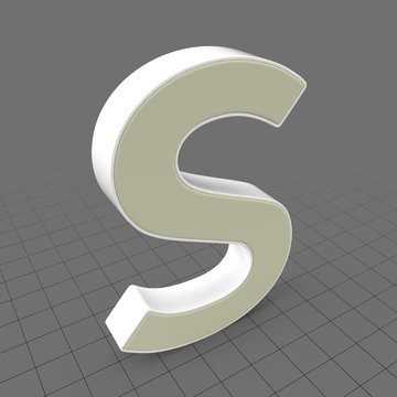 Letters Simple S