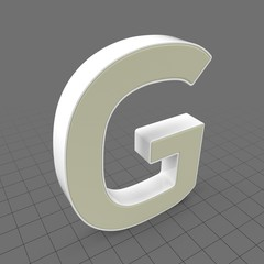Letters Simple G