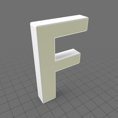 Letters Simple F