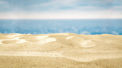 summer background of sand and free space for your decoration  Fotomurales