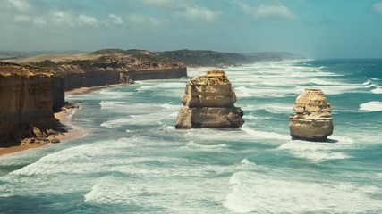 Wall Mural - Twelve Apostles, sunny day, Australia