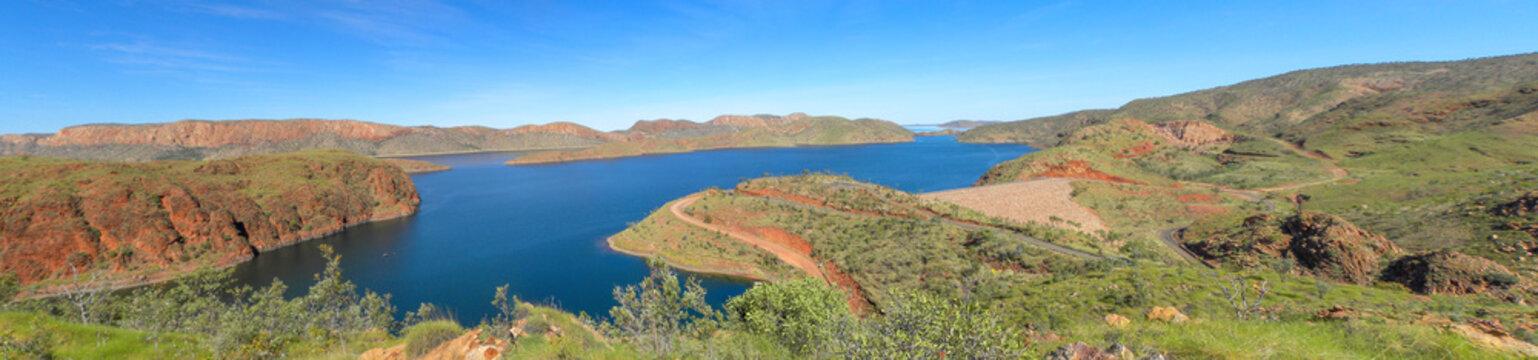 Lake Argygle Landscape at Kimberley Western Australia West Coast Western Australia