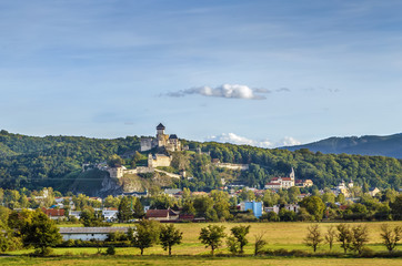 Fototapete - Trencin Castle, Slovakia