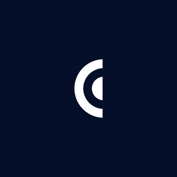 Initial based clean and minimal C Logo. CC letter creative fonts monogram icon symbol. Universal elegant luxury alphabet vector design