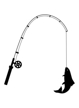 Download 886 Best Fishing Pole Clip Art Images Stock Photos Vectors Adobe Stock