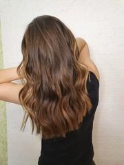 Papiers peints Salon de coiffure woman with long hair