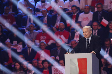 Convention inaugurating Polish President Andrzej Duda's election campaign in Warsaw