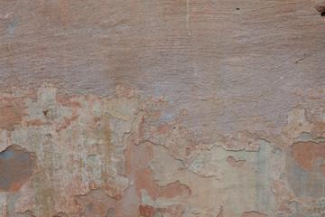 Fotobehang Oude vuile getextureerde muur Texture old stucco surface with cracks