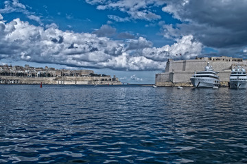 The Largest Harbor in Malta