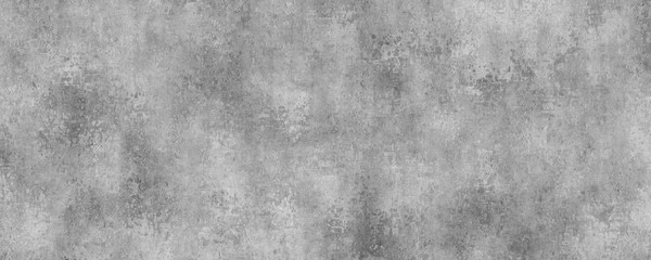 Fotobehang - Concrete gray wall background.Grunge cement texture.Long wall background.