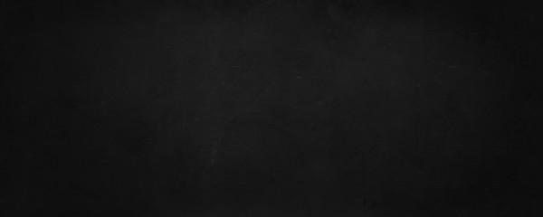 Fototapete - black board and empty chalkboard wall background