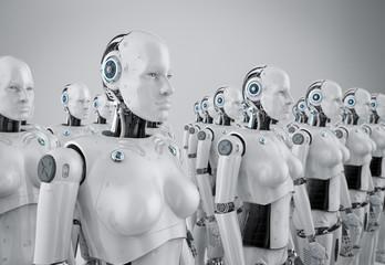 Female cyborg army