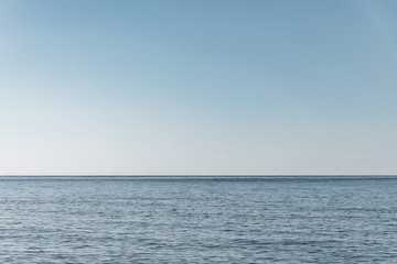 Fototapete - Baltic sea surface in tranquil day.