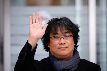 Director Bong Joon-ho arrives at Incheon International Airport in Incheon