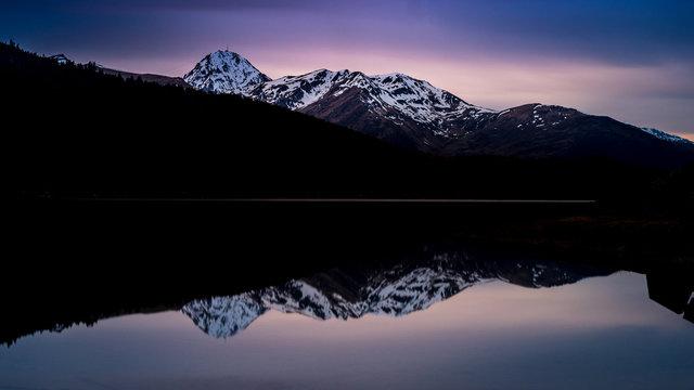 lac de Payolle très Longue pose fushia
