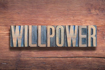 willpower word wood