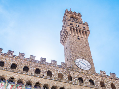 The tower of the Palazzo Vecchio of Firenze