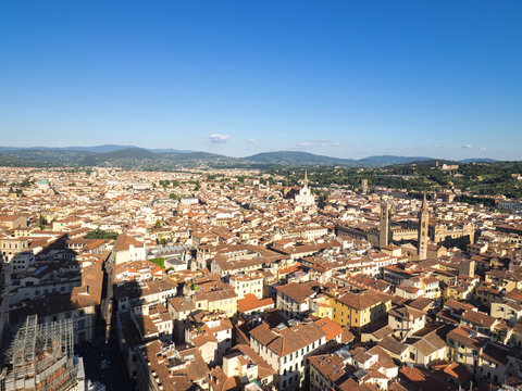 Views of Firenze from Santa Maria del Fiore cathedral