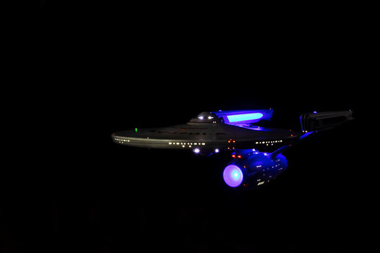Star Trek Ship for Editorial purposes