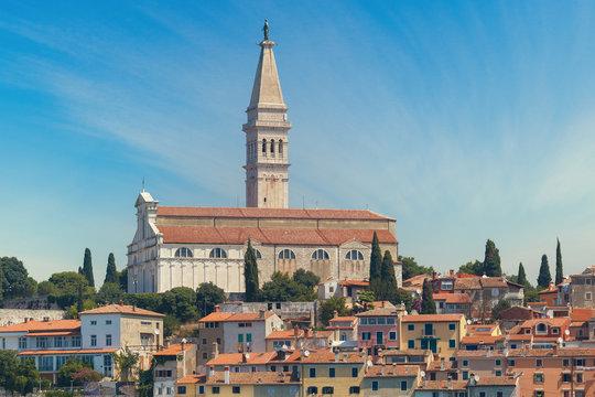 The church of St. Euphemia, Rovinj, Croatia