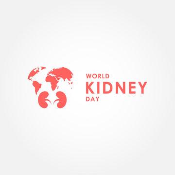 World Kidney Day Vector Design For Banner or Background