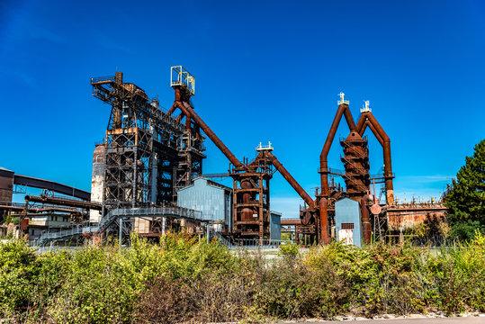 Usine sidérurgique d'Uckange