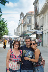 Family vacation in Galicia, Tui, Spain
