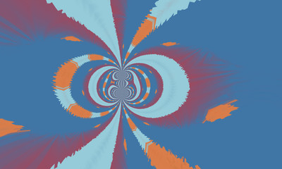 Keuken foto achterwand Psychedelic Abstract bright colorful background. Beautiful illustration for your business