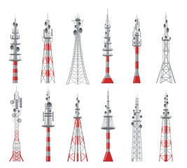 Communicating radio constructions