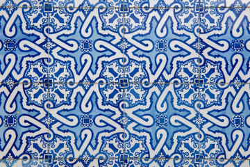 Portuguese decorative tiles azulejos