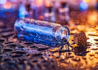 bottle for medicines. bottle for handmade, spices, drinks. bottle for perfume. bottle for olive oil. bottle for messages and old letters