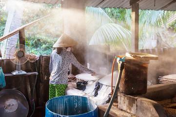 Rice noodle factory