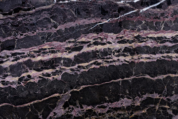 Tuinposter Marmer New black marble background as part of your attractive interior. High quality texture.