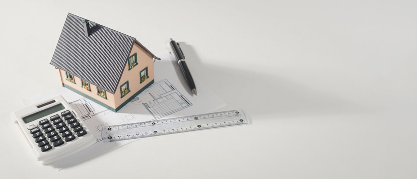 Buying your own home, home loan concept