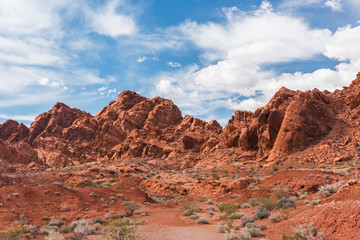 Valley of Fire in Nevada