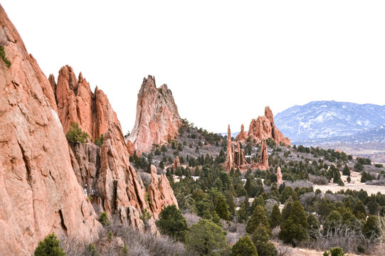 Colorado State Park Mountains