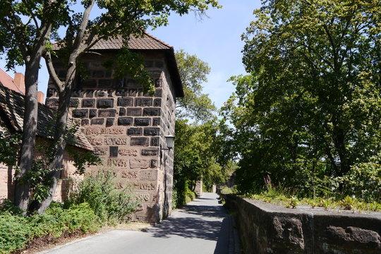 Stadtmauer Nürnberg Wöhrder Wiese