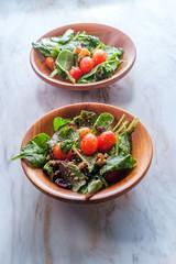 Baby Kale Walnut Salad