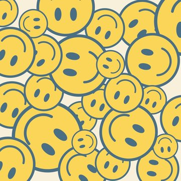 A lot of smileys