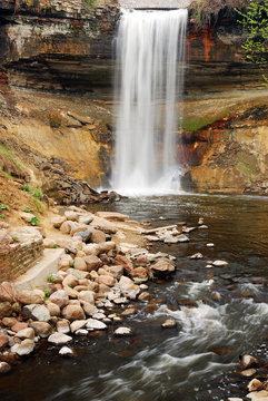 Minnehaha Falls, a natural wonder in Minnesota, is just a few minutes from downtown Minneapolis